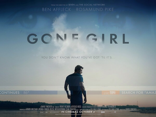 Gone Girl: harmony is sooo last season